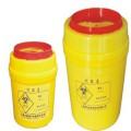 K&Y/康芝园 3L聚丙烯塑料圆形利器盒