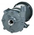 不锈钢直通式离心水泵,紧密耦合的高流量泵,125加仑或63 TDH,1-1/2 HP 115/230 VAC,1相,TEFC