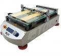 TQC AB3220电动自动膜涂布230V穿孔真空床,内置真空泵,和组合连接组件的标准模块喷头和丝杆镀膜