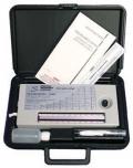 Psychro-Dyne 湿度和露点测量仪 两个摄氏度的温度计 有机黑 WE-80012