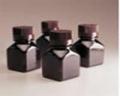 Nalgene 322021-0125 琥珀色PETG 方形有刻度培养基瓶