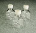 Nalgene 342023-0500 方形有刻度培养基瓶