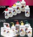 Nalgene 2425-0501易认安全洗瓶,LDPE瓶体;PP盖;PPCO填充管,500ml容量,丙酮,红色瓶盖