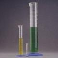 Nalgene 3663-4000C 标有刻度的量筒,聚甲基戊烯,蓝色聚丙烯底座,4000ml容量