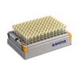Matrix 3736 0.5 mL 2D 聚丙烯,V形底冻存管,96管/管架,10自动设备专用架 (带DuraSeal 高盖)/箱