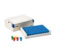 Matrix 3741BLU 1.0 mL 2D,聚丙烯,V形底螺旋盖冻存管带蓝色盖,无菌