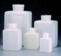 Nalgene 312007-0032 矩形瓶,高密度聚乙烯,1000ml容量