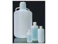 Nalgene 2097-0020 氟化细口大瓶,氟化高密度聚乙烯;氟化白色聚丙烯螺旋盖,10L容量