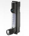 Cole-Parmer 聚碳酸酯流量计, 0.1-1.2 LPM, 空气, 不锈钢, 带阀门